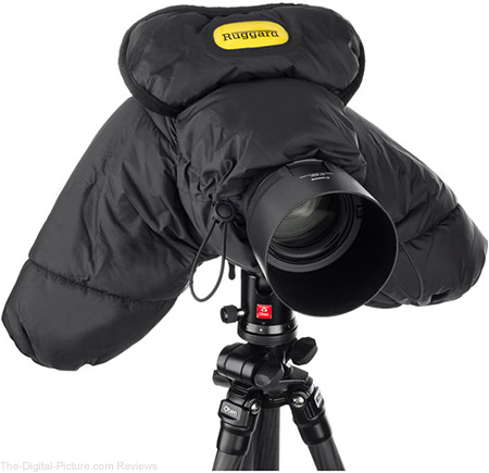 Ruggard DSLR Parka Cold and Rain Protector for Cameras and Camcorders (Black) - $  39.95 with Free Shipping (Reg. $  79.95)