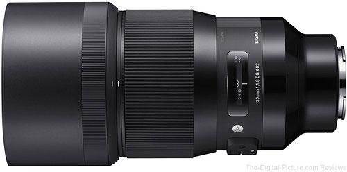 Sigma 135mm f/1.8 DG HSM Art Lens for Sony E