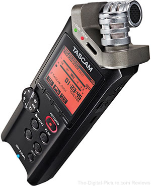 Tascam DR-22WL 2-Channels Portable Handheld Audio Recorder with Wi-Fi