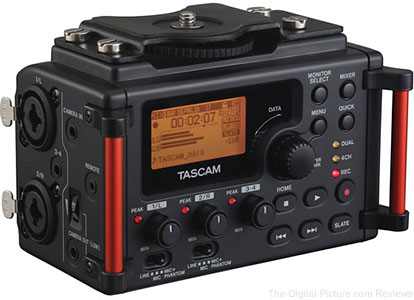 Tascam DR-60D MKII Portable Recorder for DSLR - $  124.99 Shipped AR (Compare at $  173.00)