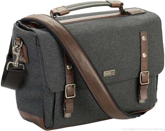 "Think Tank Photo's New ""Signature"" Camera Bag Series Features Advanced Fabrics for a Modernized Classic Shoulder Bag"