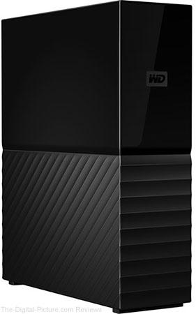 WD 10TB My Book Desktop USB 3.0 External Hard Drive