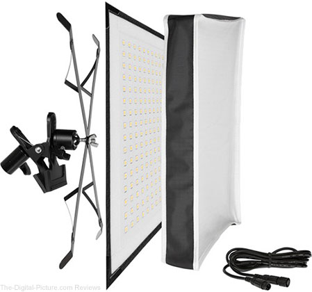 Westcott Flex X-Bracket Daylight LED Mat Set (1 x 1') - $  389.95 Shipped (Compare at $  699.95)