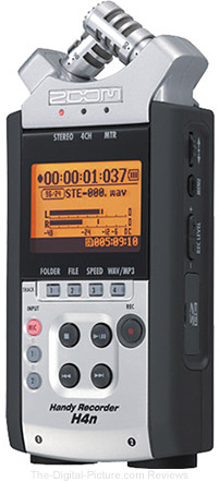 Zoom H4nSP Handy Recorder - $  159.99 with Free Shipping (Reg. $  199.99)