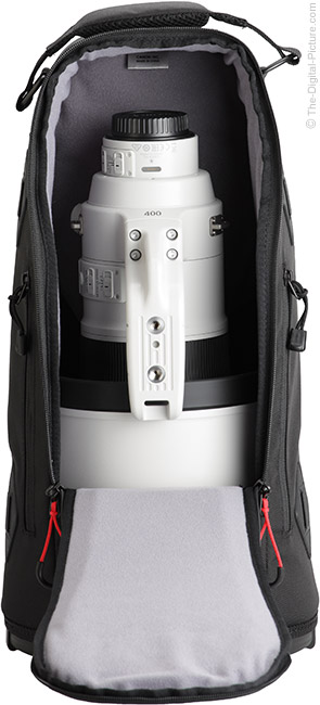 Canon EF 400mm f/2.8L IS III USM Lens Case Open