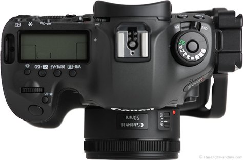 Canon EF 50mm f/1.8 STM Lens Front