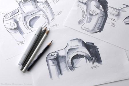 Sketch of 5D Mark III