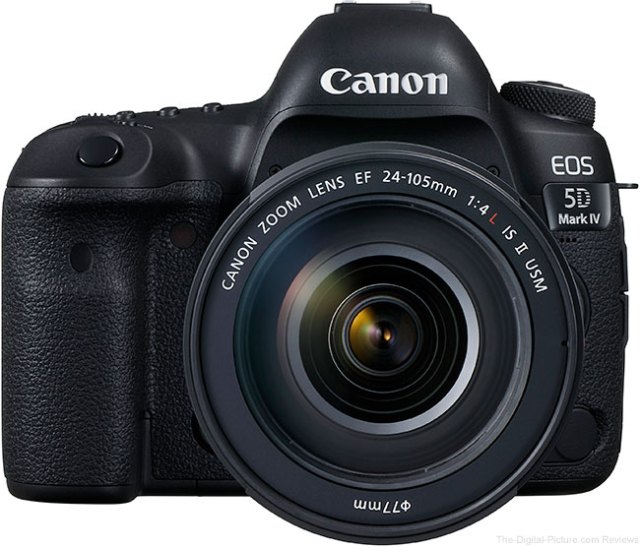 Canon EOS 5D Mark IV Owner's Manual Now Available