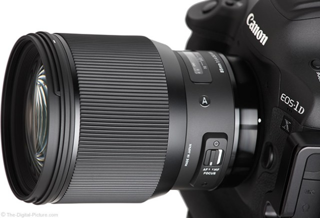 More Sigma 85mm f/1.4 DG HSM Art Lens Test Results and Information