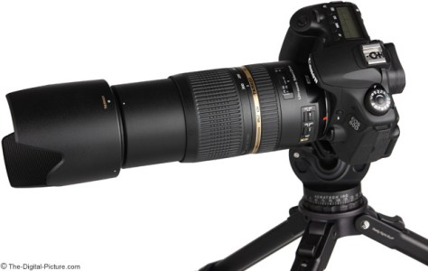 On Canon EOS 60D - Side View