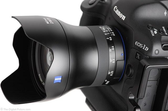 Zeiss Milvus 21mm f/2.8 Lens