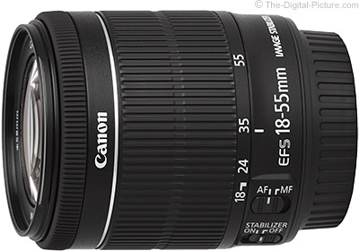 Canon EF-S 18-55mm f/3.5-5.6 IS STM Lens Review