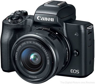 Refurb. Canon EOS M50 with EF-M 15-45 IS STM Lens