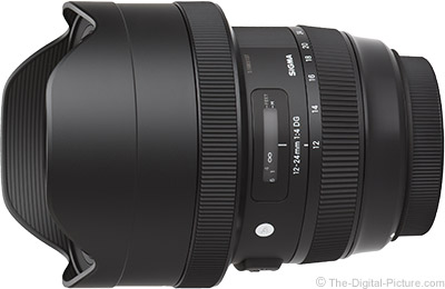 Sigma 12-24mm f/4 DG HSM Art Lens for Canon In Stock at Focus Camera