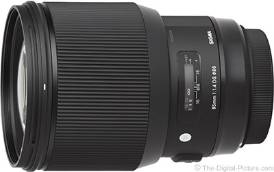 Sigma 85mm f/1.4 DG HSM Art Lens Tested on EOS 1Ds III, 7D II