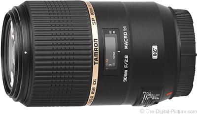 Tamron 90mm f/2.8 SP Di Macro VC USD for Canon- $  549.00 Shipped (Reg. $  749.00)