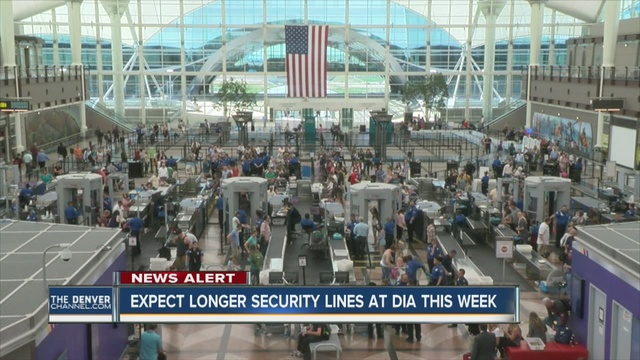 TSA Not Enough Security Screeners For Number Of
