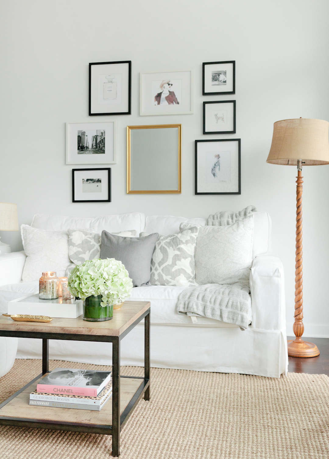 Get The Look for Less: Cozy + Minimalist Living Room   The ... on Minimalist Living Room  id=78712