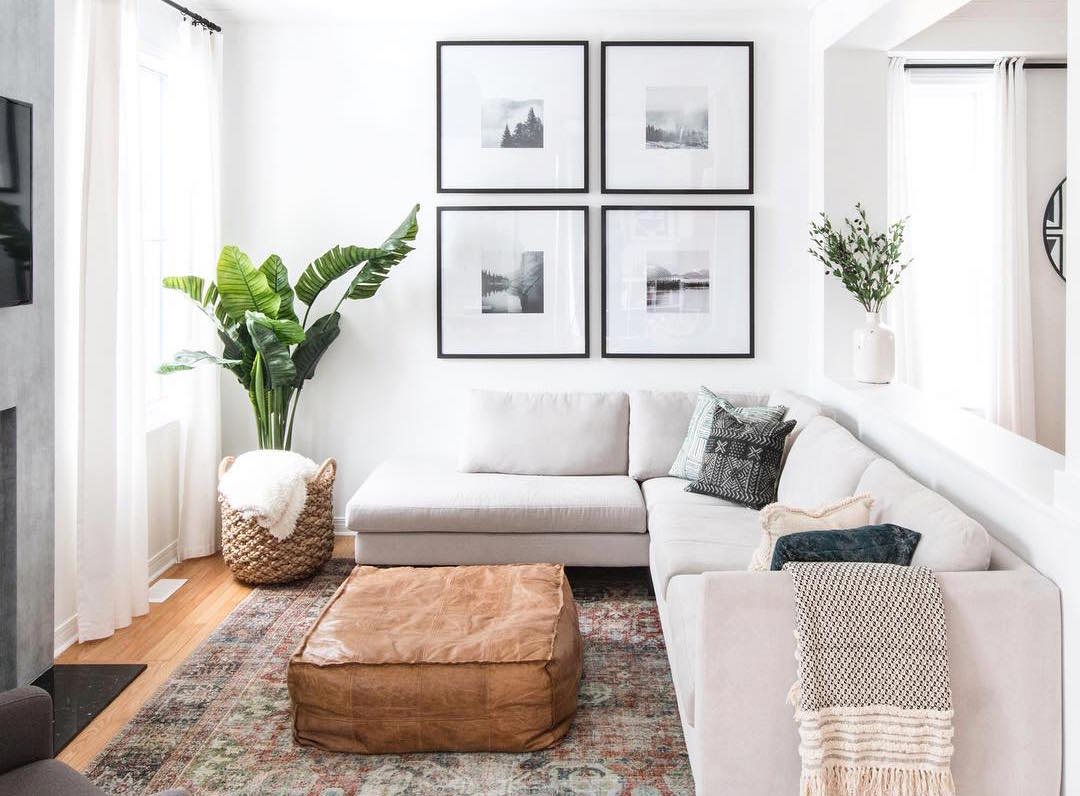 6 Ways to Make Your Small Living Room Feel Bigger | The ... on Small Living Room Ideas 2019  id=82415