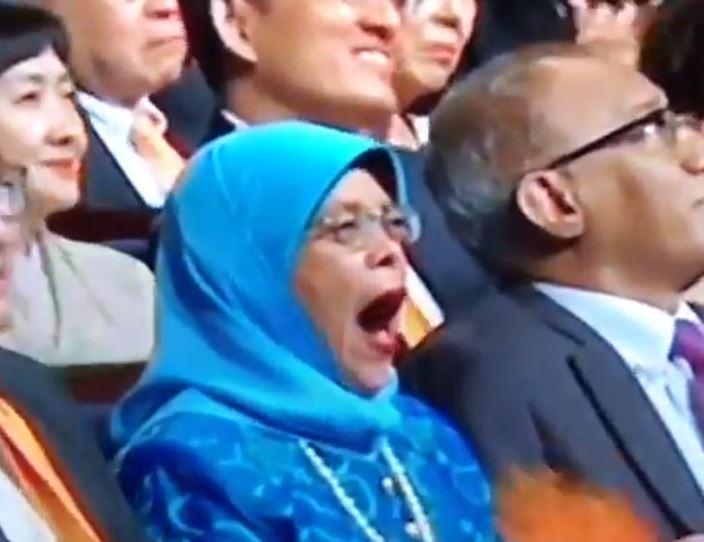 Image result for halimah yawn