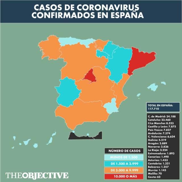 Directo | Coronavirus en España: 21 días en estado de alarma y más ...
