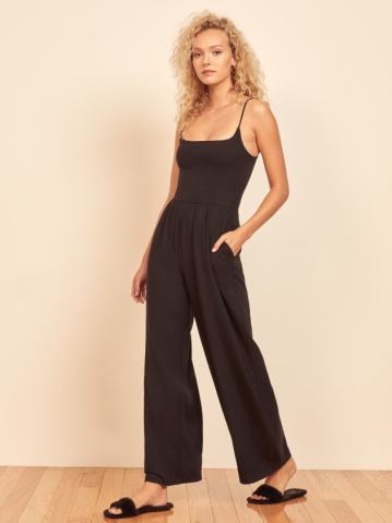 Black Chandler Jumpsuit