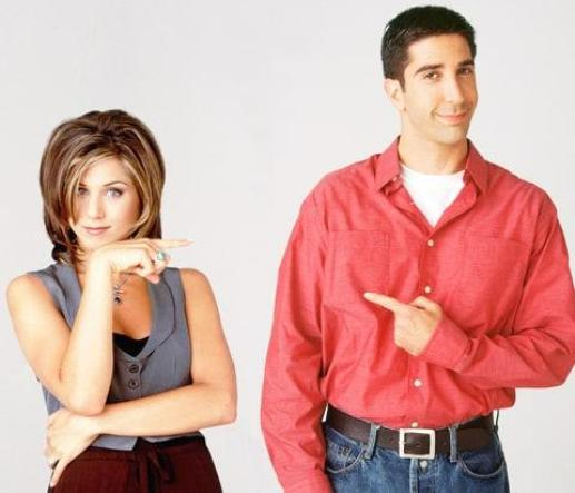Ross and Rachel are the worst part of Friends and you know it