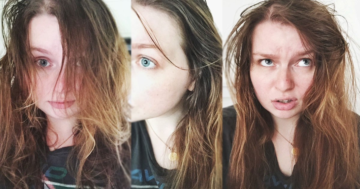 I Tried The No Poo Method And Stopped Washing My Hair