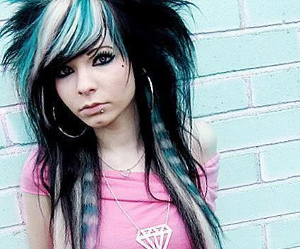 Image Result For Scene Long Hairstyles