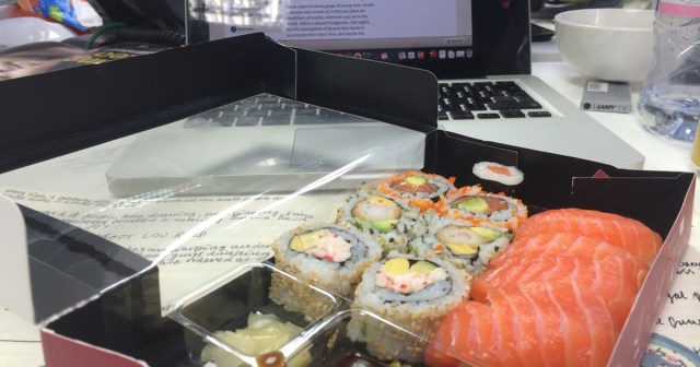 What your sad desk lunch says about you