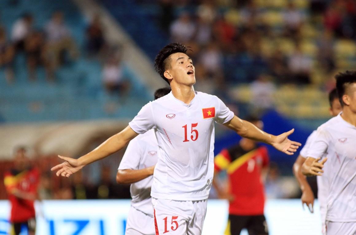 Kết quả U22 Việt Nam vs U22 Trung Quốc: Nụ cười của HLV Park Hang Seo