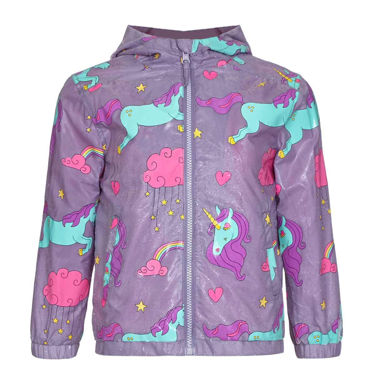 Holly Amp Beau Toddler Big Kid Color Changing Rain Coat