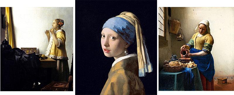 人と背景の描写