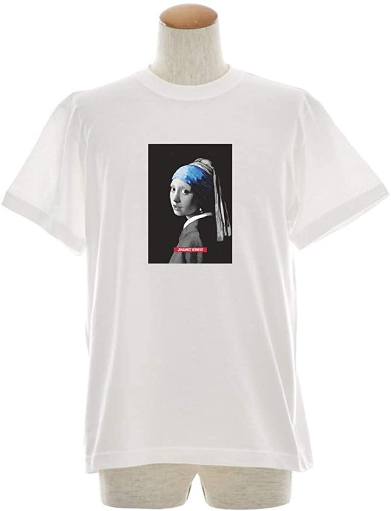 真珠の耳飾りの少女のTシャツ
