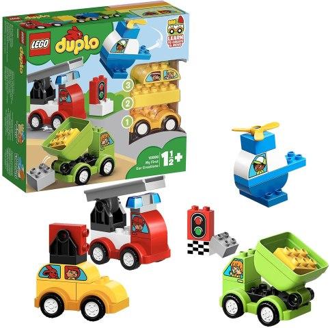 知育玩具 レゴデュプロ乗り物ボックス