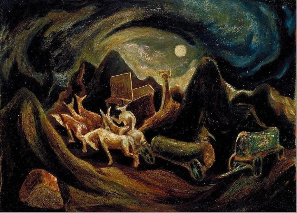 ジャクソン・ポロック 西へ(1934)