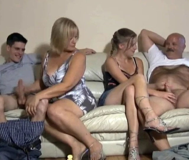 Old Young Handjob Video With Cumshots From Both Men