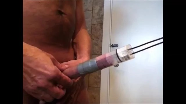 Pumping Dick To A Crazy Level