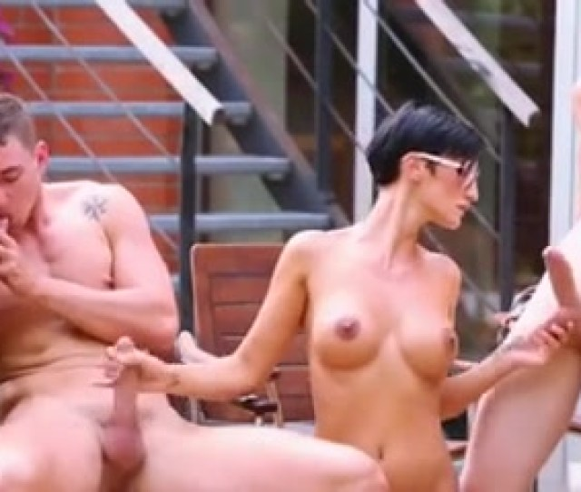 Bisexual Teens In A Wild Outdoor Orgy