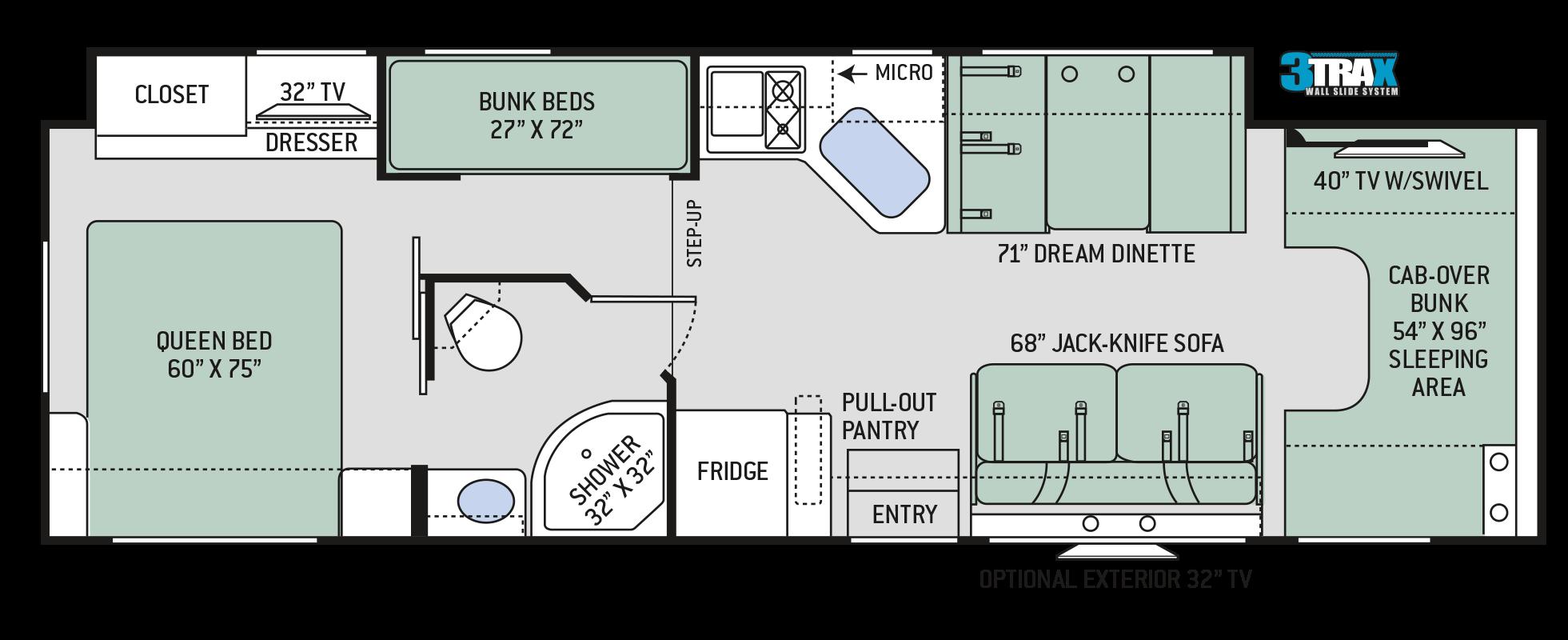 Floor Plans Chateau: 31E