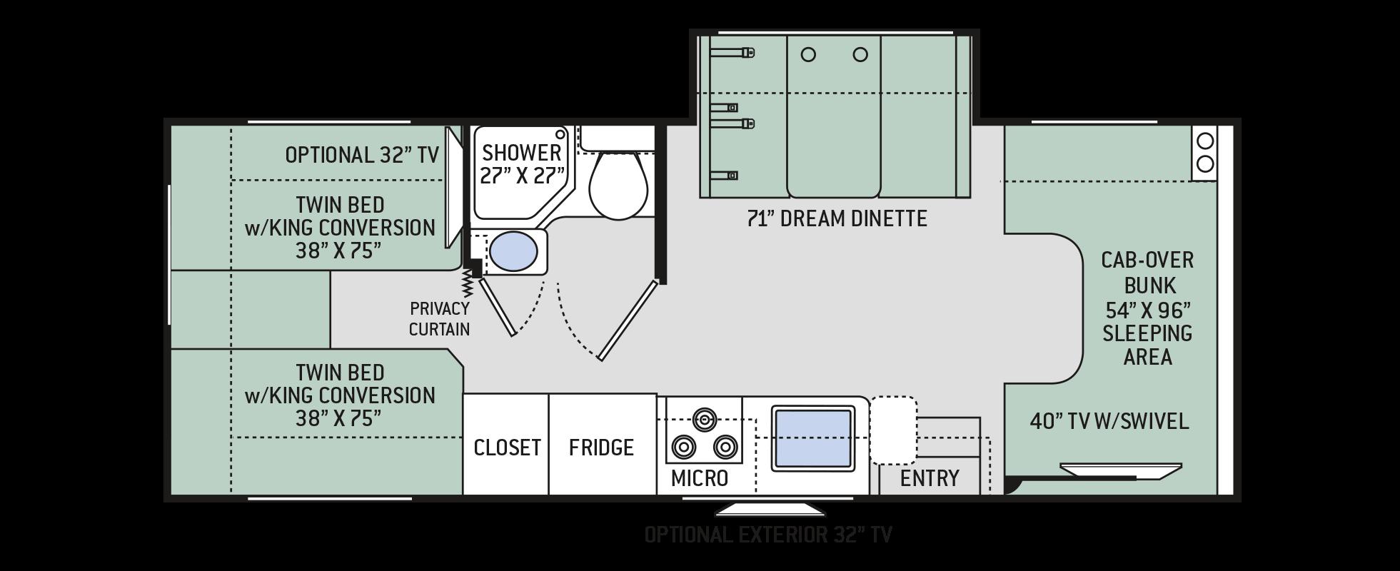 Floor Plans Chateau: 25V