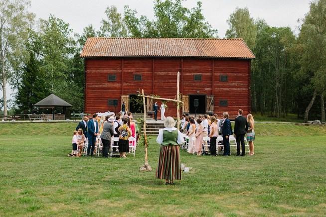 Naturinspirerat bröllop Almare Stäket