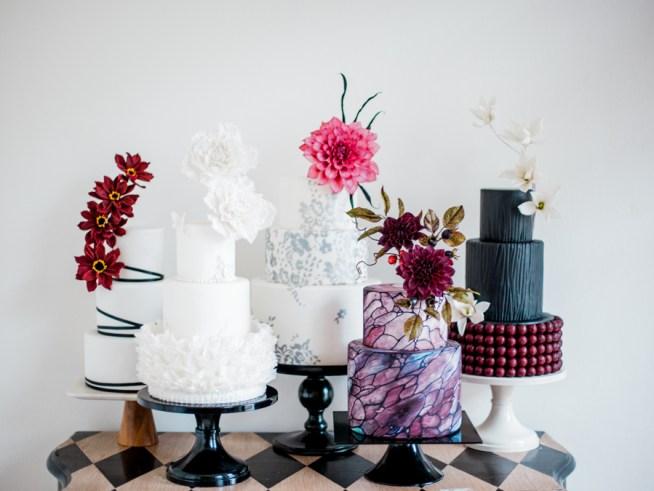 Bröllopstårta Liv Sandberg Cake Art