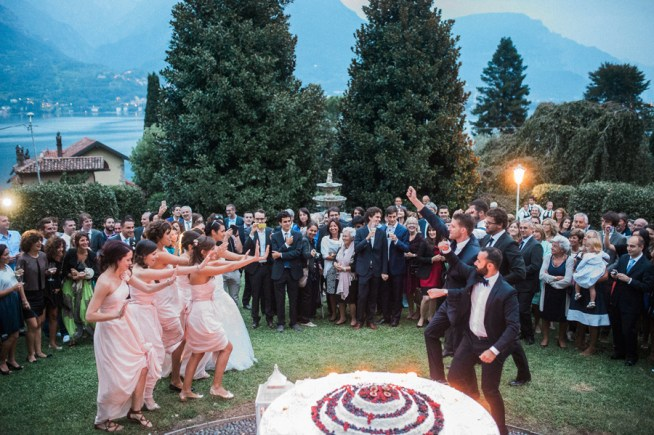 La Dorda Del Nonno Wedding by Lake como