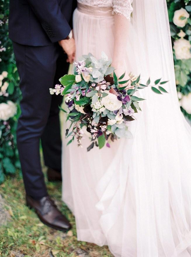 Blomsterdesigner Linnéa Bergqvist The Wild Rose designade blommorna till bröllopet