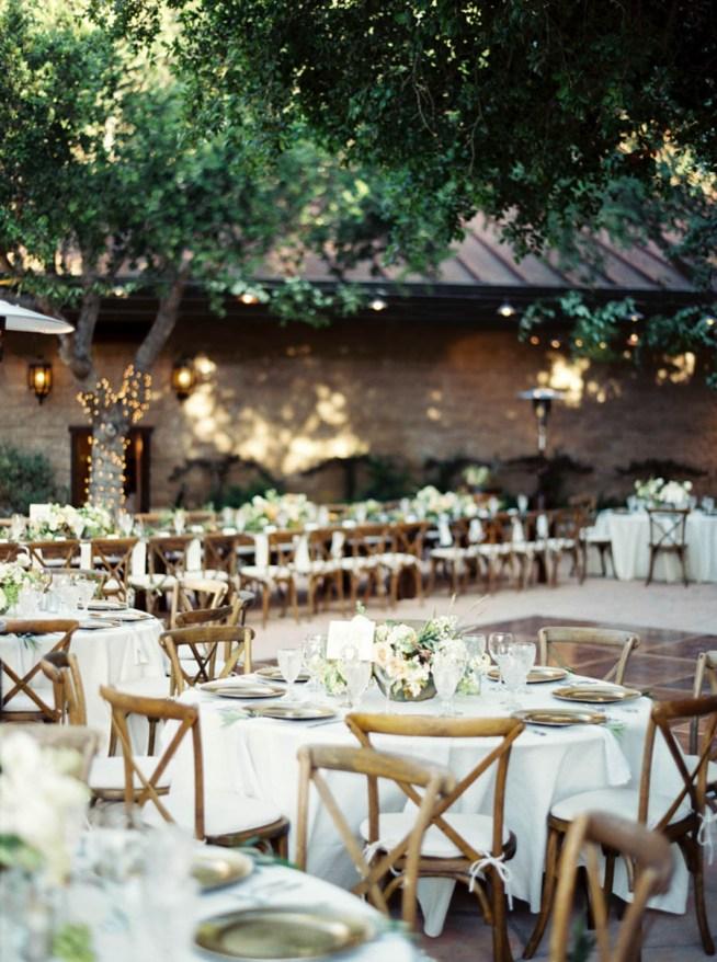 bröllop på en vingård
