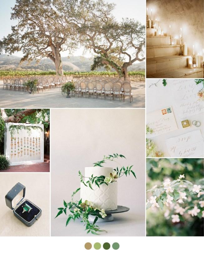 grönt & naturnära som koncept till bröllopet