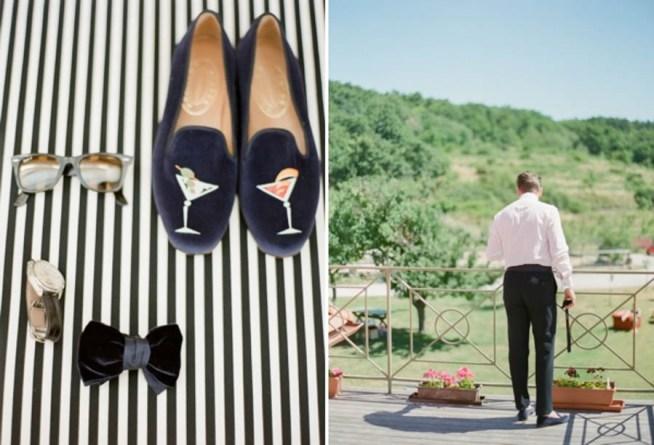 Brudgummens detaljer