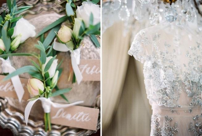 Bröllopsdetaljer i grå toner Pia Clodi Peaches & Mint