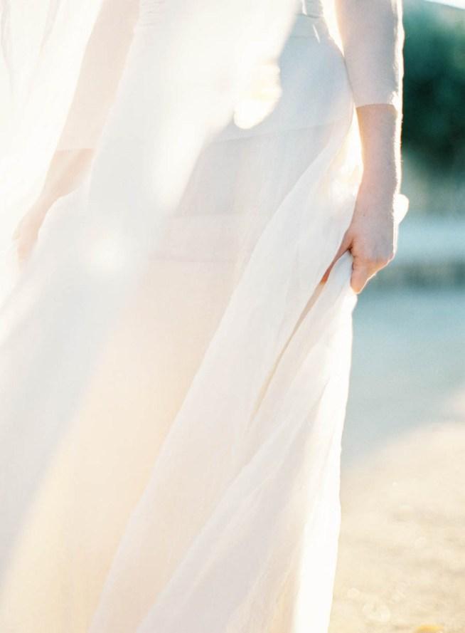 fladdrande kjol